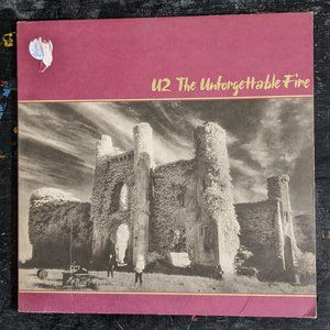Other - U2 The Unforgettable Fire Vinyl Record LP